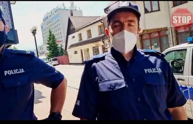 Gabryś Funkcjonariusz Policji nie legitymuję się proszę oglądać