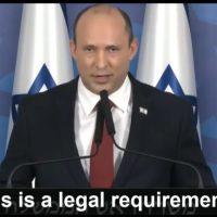 Izrael formalnie zatwierdza faszyzm COVID-19