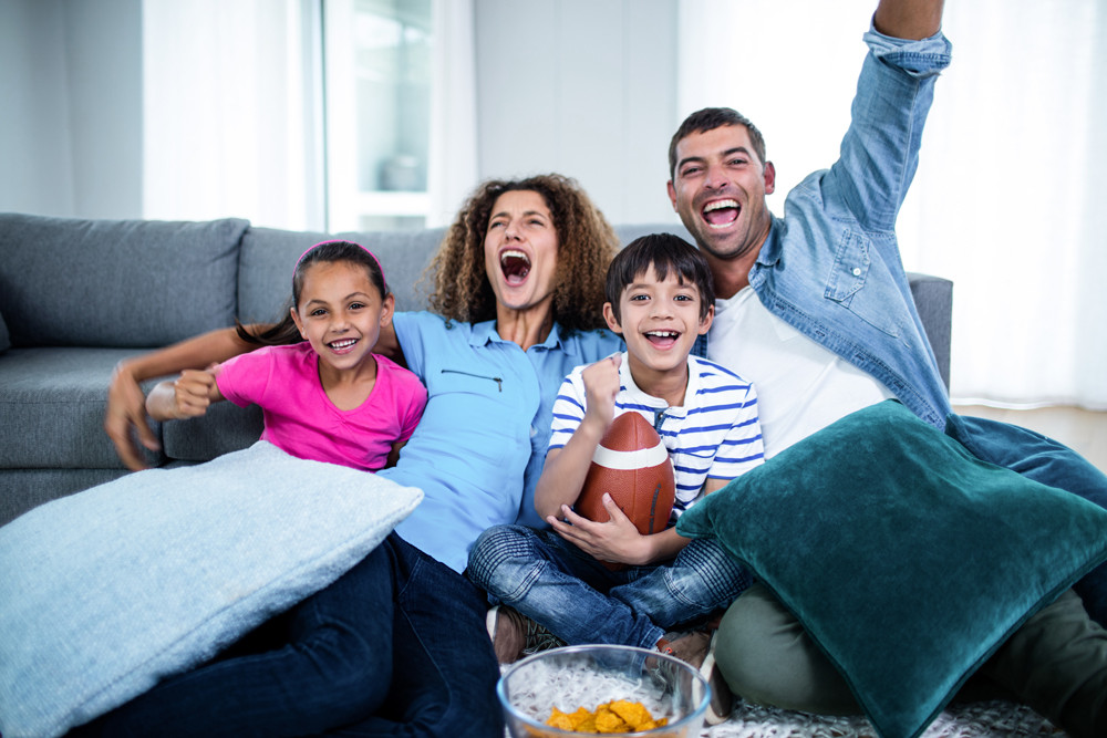 How to host a football watch party