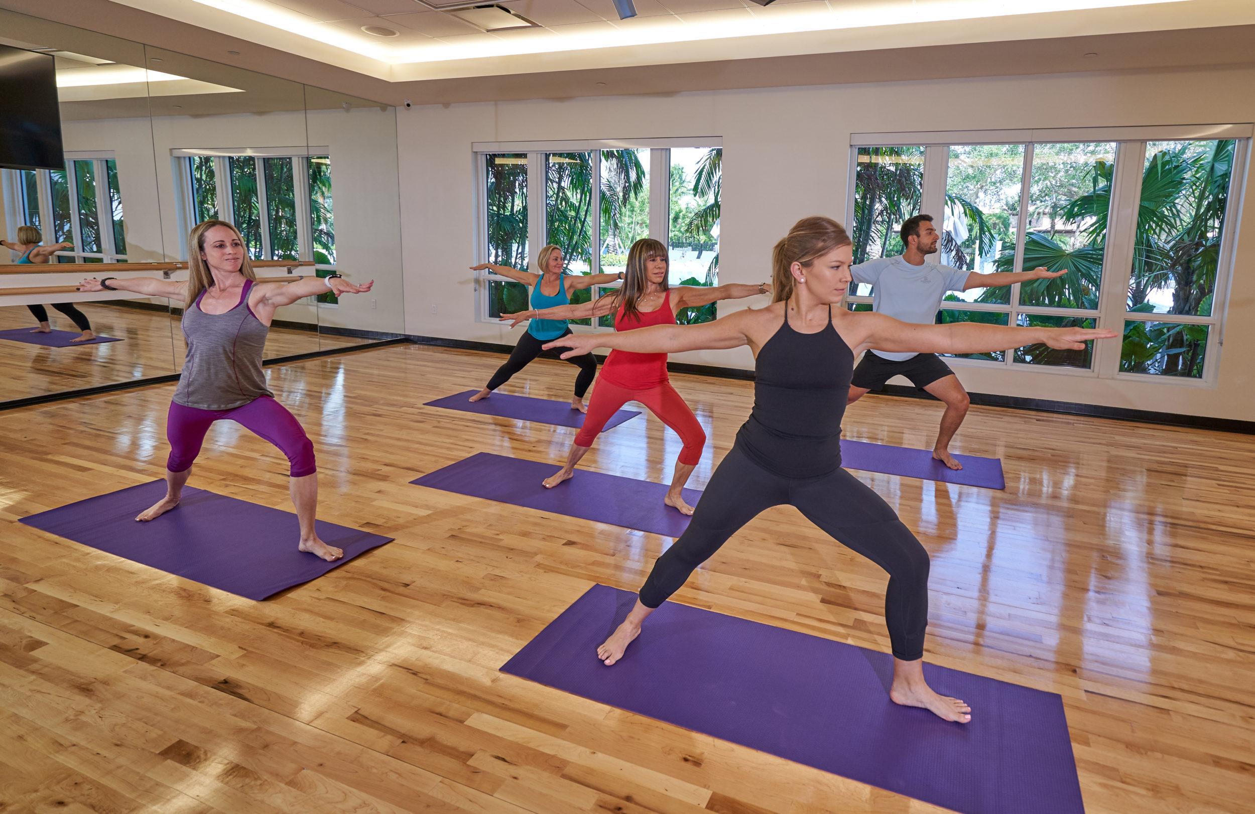 Mizner Yoga Class
