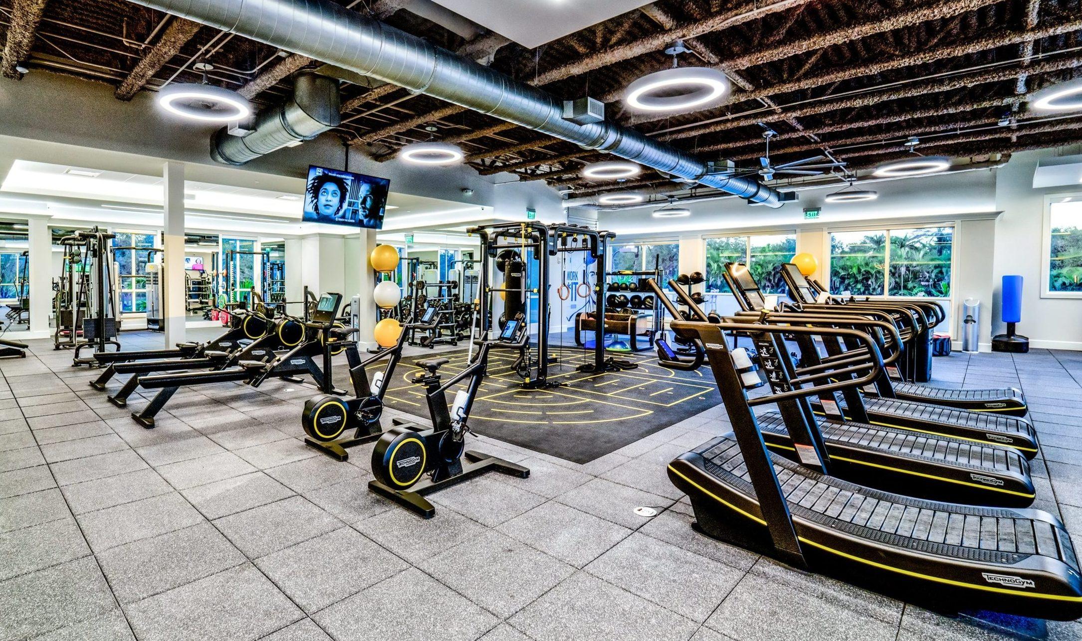 Mizner Country Club Technogym Fitness Center