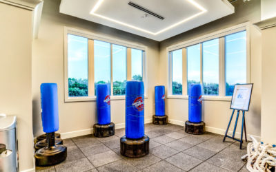 Mizner Country Club Boxing Class Area