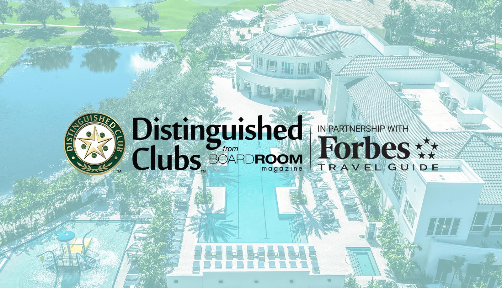 Distinguished Club Announcement
