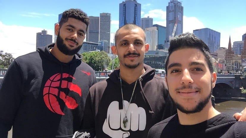 Mizo Amin at Melbourne