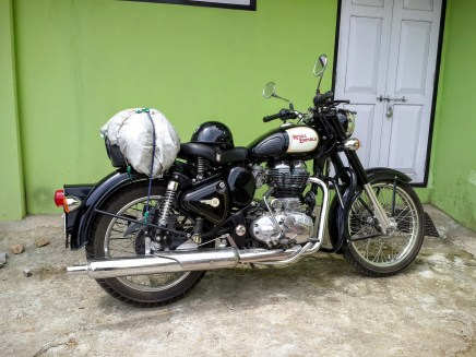 RE 350 Classic, the transport for the trip