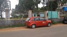 Raja's seat, Madikeri . Too many Zoom Car these days.
