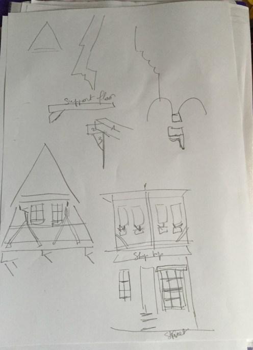 Fachweri house sketch 2