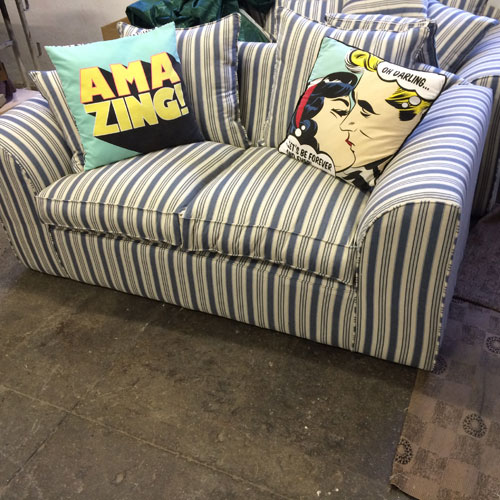 Striped Couch