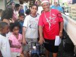 Boy & bike