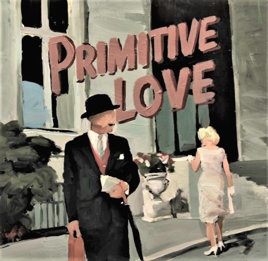 Arcadiy Ostromuhov, primitive love, LP-cover overdyed