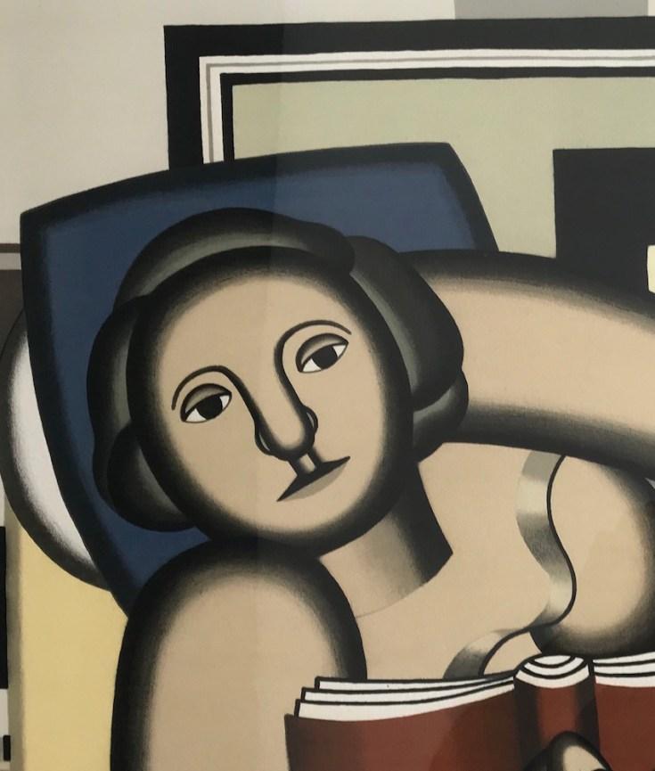 Fernand Léger, La lecture, 1924