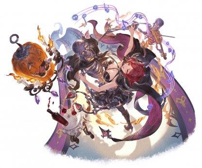 闇属性 レディ・グレイ ハロウィン グラブル スマホ ゲーム攻略 ブログ 02
