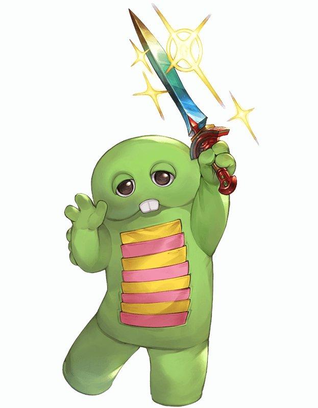 風属性 ガチャピン グラブル スマホ ゲーム攻略 ブログ 01