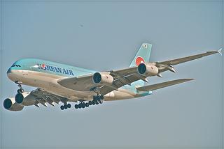 飛行機 大韓航空 韓国