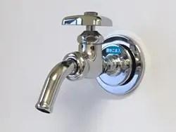 単水栓吐水口からの水漏れ