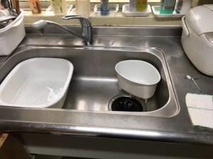 台所の排水に注意