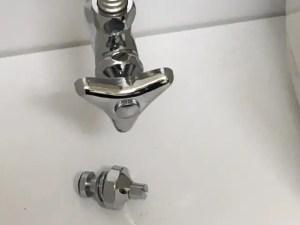 止水栓からの水漏れ