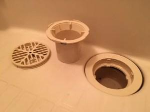 浴室排水口は2タイプの構造があります