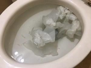 トイレつまりにはまずラバーカップを試してみましょう