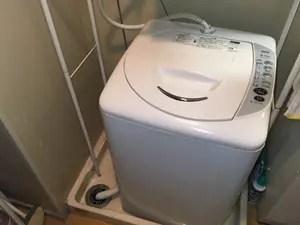 洗濯場の排水口ってどうなってるの?