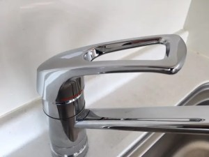 シングルレバー混合水栓の場合