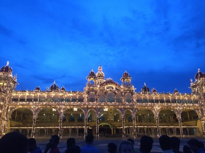 After Mysore Royal Palace was lit