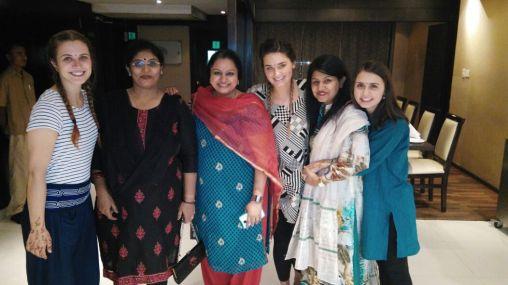 From left to right: Jill, Suniti, Sowmya, Sarah, Mehar, and I