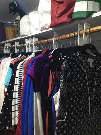 I actually had fun adding closet dividers to my closet