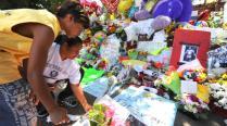 MJ mourning fans
