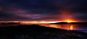 Hunterston Sunset1