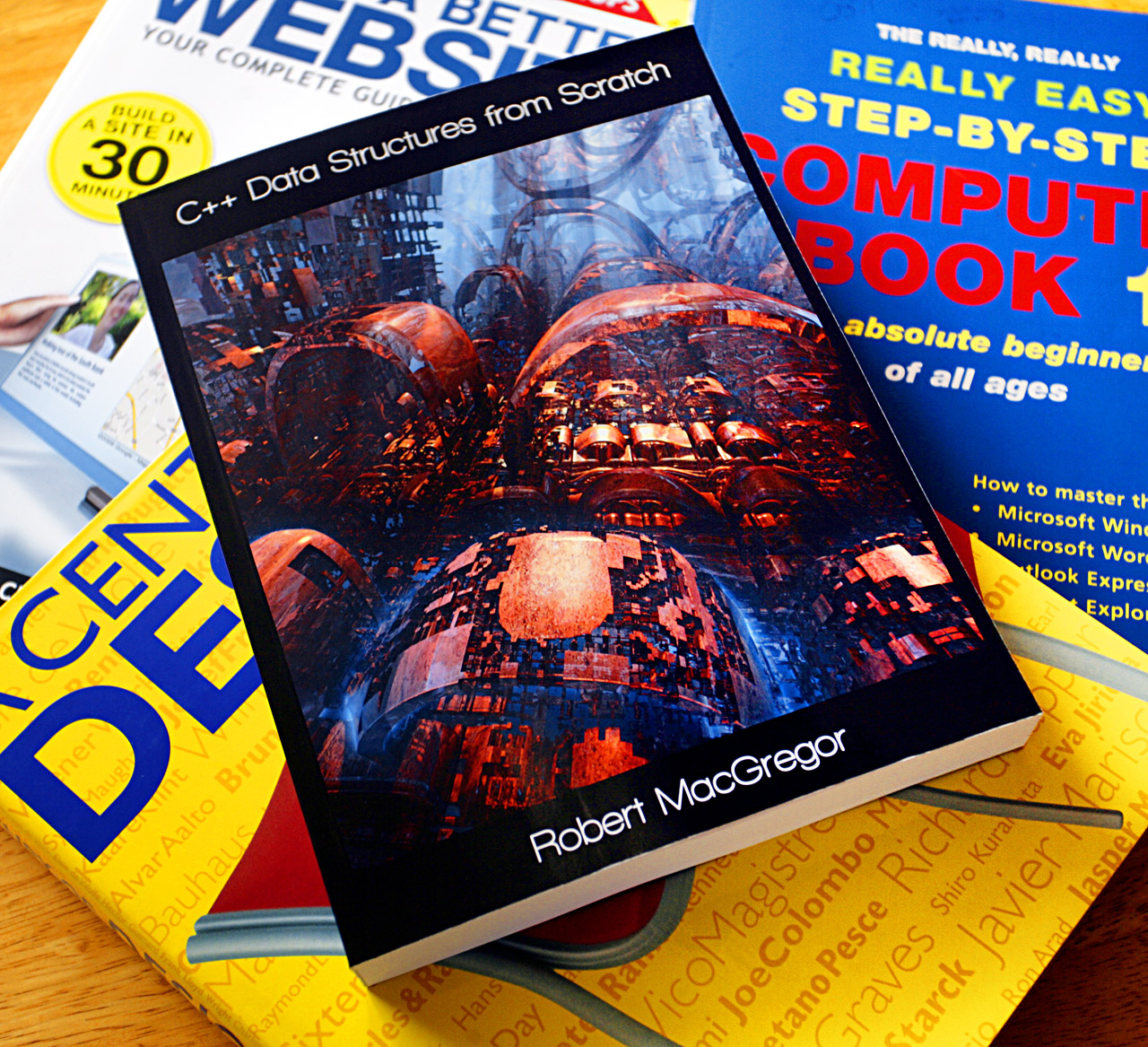 3D Fractal Book Jacket Art by Mark J. Brady