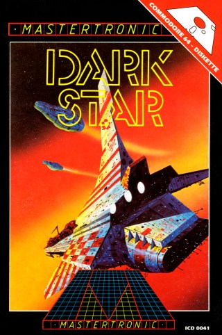 "Dark Star 5"" floppy cover"
