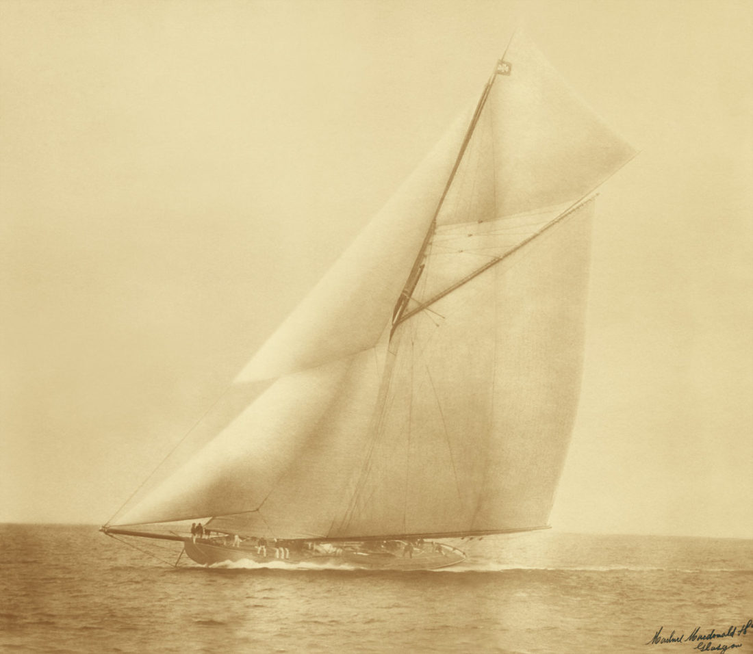 'J Class' Large Scale Photo-Restoration