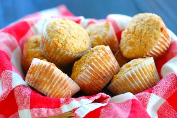 Delicious 100% whole grain corn muffins are fast and easy comfort food that makes your meal extra special. | mjbakesalot.com