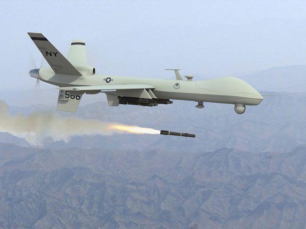 reaper firing missile large