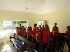Grupo de CAMINANTES en la oración