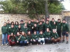 Monitores del movimiento Calasanz en Vitoria. Curso 13-14