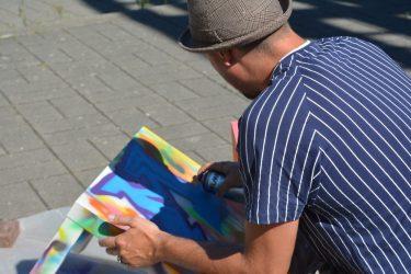 Street art avec Le Môme