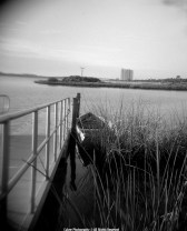 Holga on the river