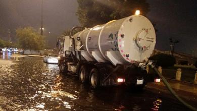 Photo of أمانة العاصمة تواصل أعمالها في إزالة آثار ومخلفات مياه الأمطار