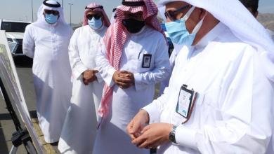 Photo of أمين العاصمة المقدسة يتفقَّد طريق علي بن أبي طالب