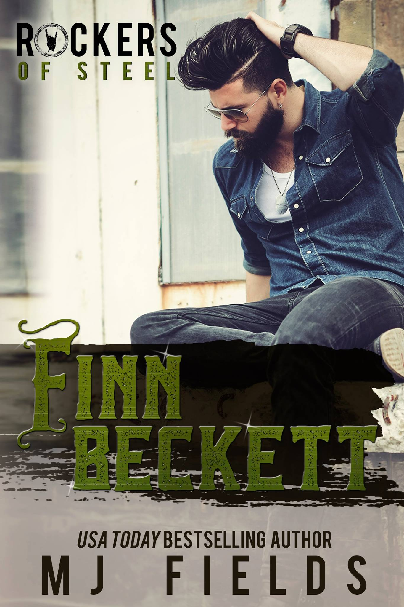 Cover Reveal: Finn Beckett (The Rockers of Steel, Book 2)