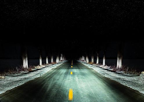 Crazy Highway, by Hector Gramajoj