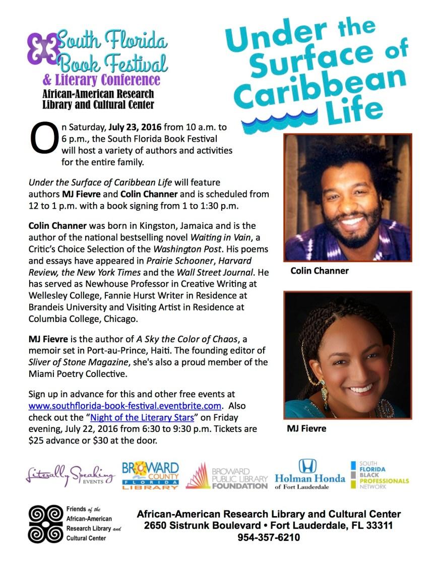 2016 SFBF Caribbean authors