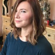 hair coloring sherman oaks, los angeles, crolayage