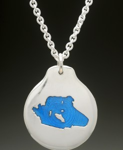 lake wentworth pendant silver