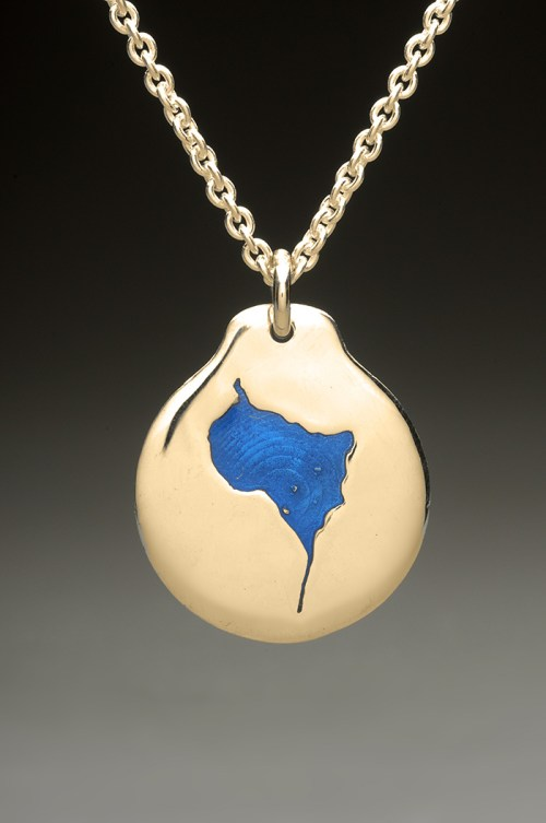 lower suncook lake pendant gold