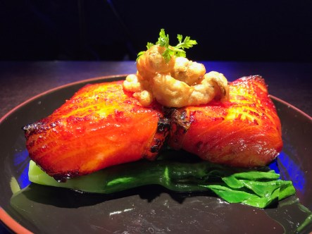 Grilled Chilean Sea Bass with Chinese Honey