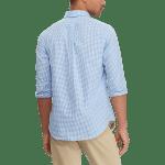 Long Sleeve Stretch Poplin Sport Shirt – Classic Fit