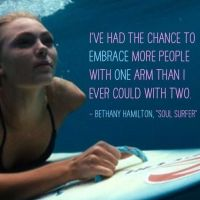 Writer's Quote Wednesday: Bethany Hamilton